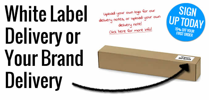Whitelabel or Your Label - Large Format Trade Print throughout the UK, it's up to you!